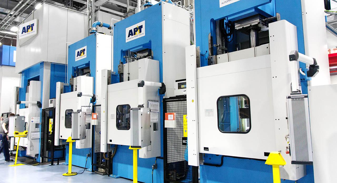 AP&T has built a fully automated and integrated production line for Aesculap's manufacturing of sterile containers for surgical instruments and other surgical equipment.