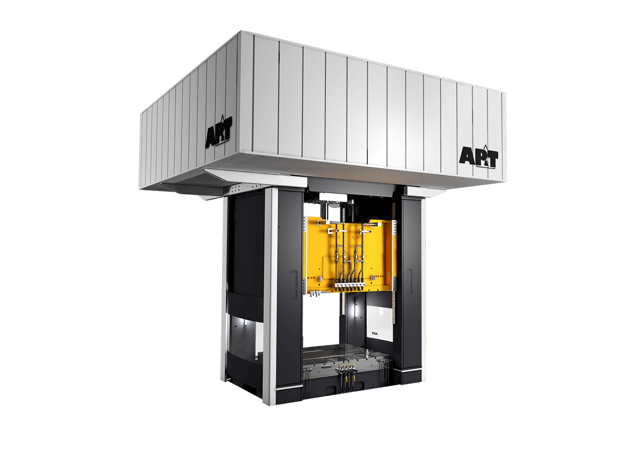AP&T's servo hydraulic press is the latest sensation — it combines the consistently high press force offered by hydraulic presses with the energy efficiency and speed control possibilities offered by servo mechanical presses.