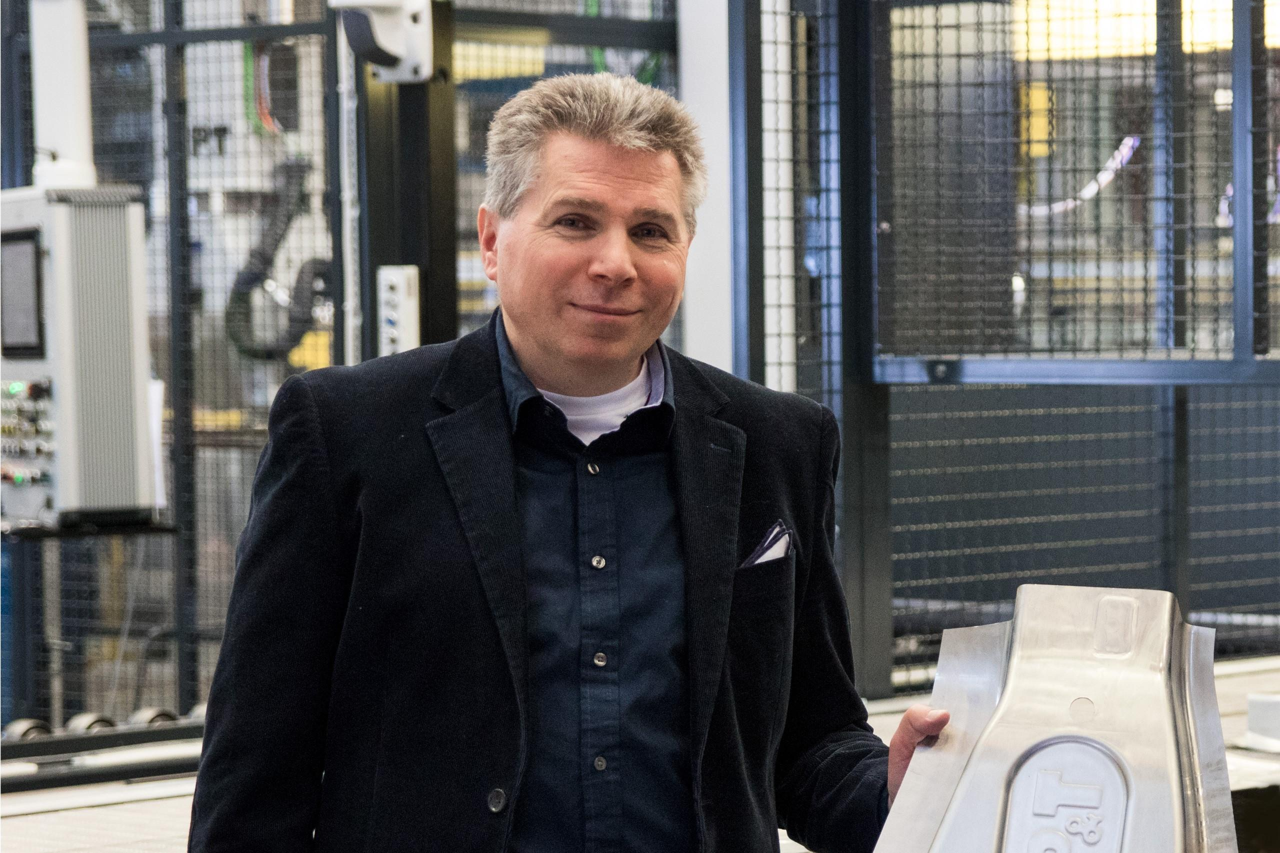 """Leichtbaulösungen aus hochfestem Aluminium können dazu beitragen, die Reichweite von Elektrofahrzeugen zu verbessern"", erklärt Per Josefsson, Director Business Development and Marketing bei AP&T."